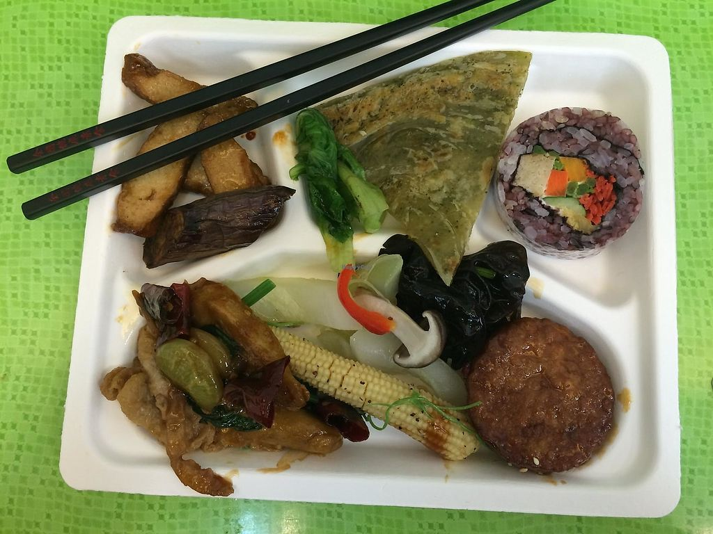 "Photo of Country Health - Xindian  by <a href=""/members/profile/na_kueng"">na_kueng</a> <br/>Typical buffet plate - a good summary of the kind of food offered by this 全國 branch! <br/> June 9, 2015  - <a href='/contact/abuse/image/47140/322478'>Report</a>"