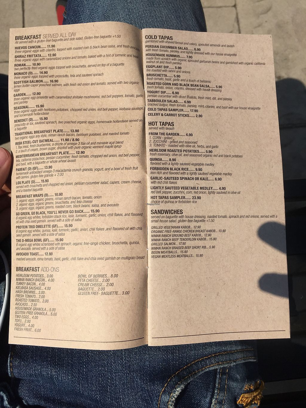 "Photo of Kreation Organic Juicery  by <a href=""/members/profile/rossmawd"">rossmawd</a> <br/>1st page of their menu <br/> September 26, 2017  - <a href='/contact/abuse/image/47178/308827'>Report</a>"