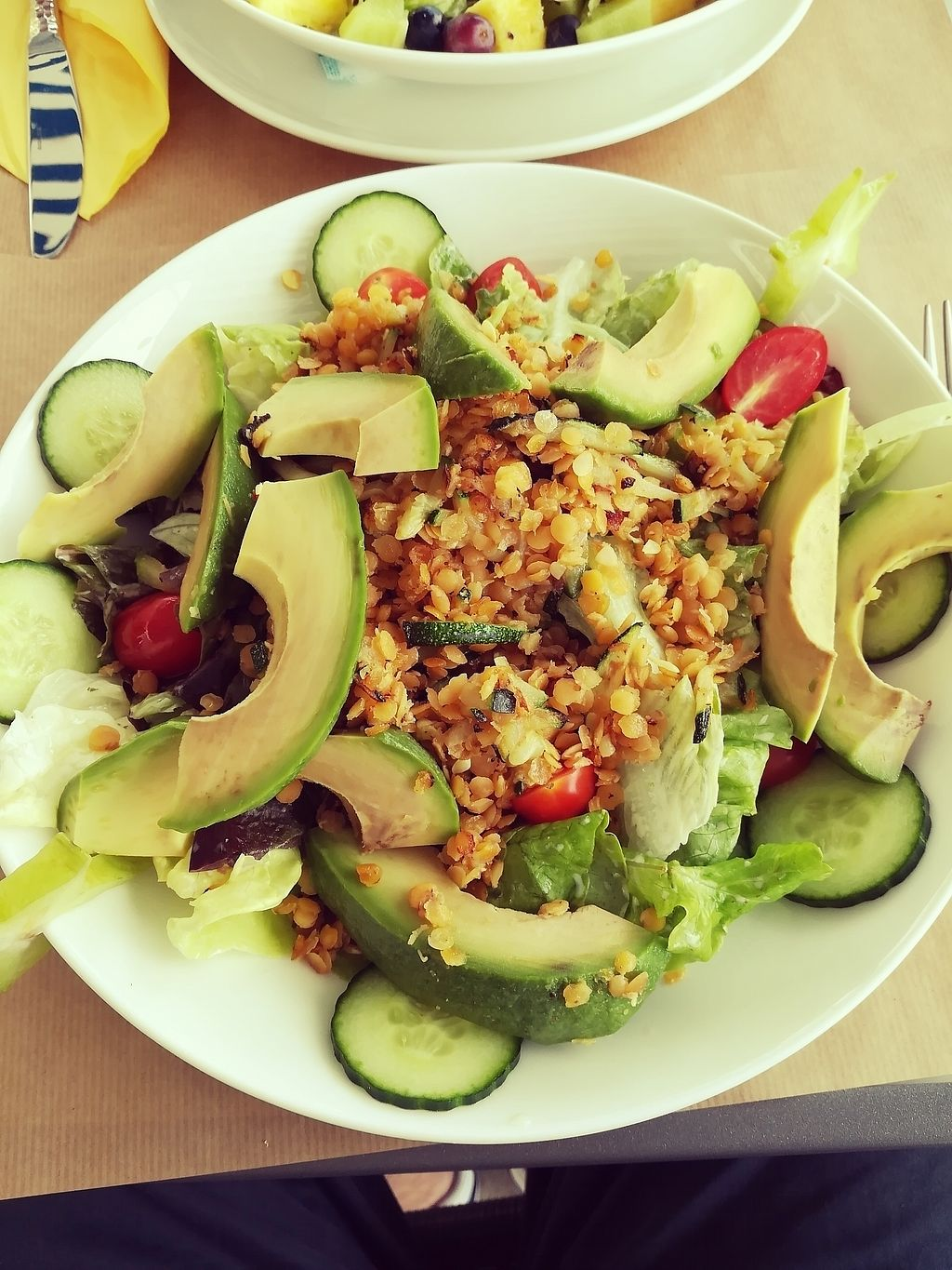 """Photo of Metschekescht  by <a href=""""/members/profile/JeronDewulf"""">JeronDewulf</a> <br/>vegan salade  <br/> July 19, 2017  - <a href='/contact/abuse/image/47185/282101'>Report</a>"""