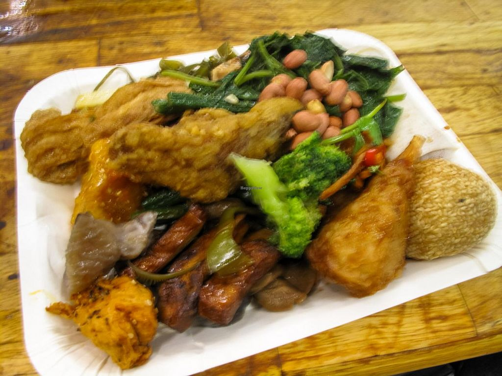 """Photo of Buddha Vegetarian Paradise  by <a href=""""/members/profile/AnthonyPolicano"""">AnthonyPolicano</a> <br/>(sorry the photo is so blurry :P) was SO delicious, trust me! <br/> December 31, 2014  - <a href='/contact/abuse/image/47220/89087'>Report</a>"""