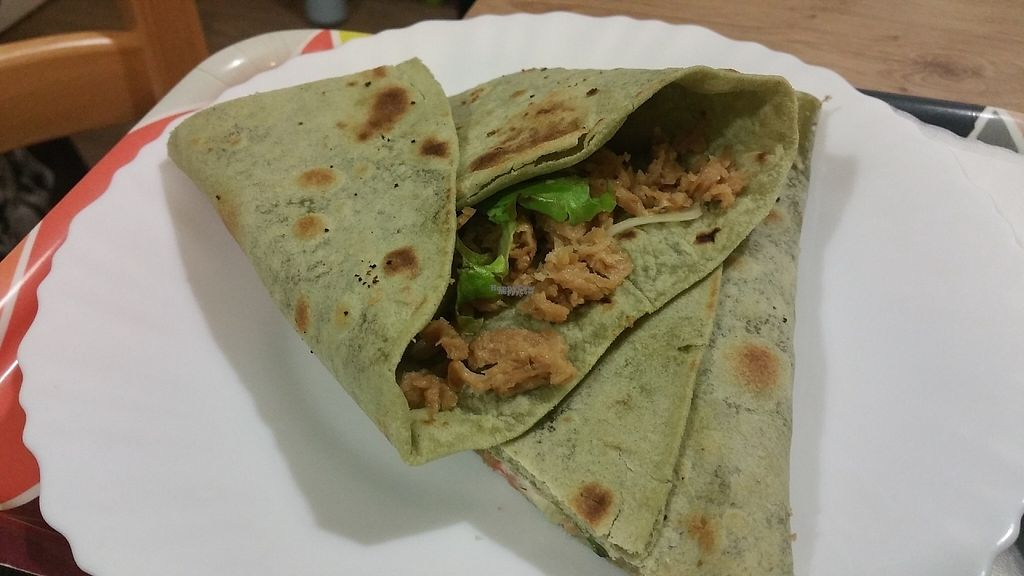 """Photo of Universo Vegano  by <a href=""""/members/profile/Rosa%20veg"""">Rosa veg</a> <br/>Piadina  <br/> April 24, 2017  - <a href='/contact/abuse/image/47226/251745'>Report</a>"""