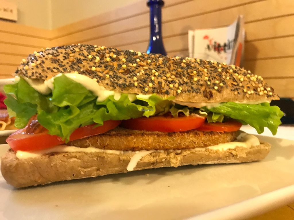 """Photo of Universo Vegano  by <a href=""""/members/profile/Beaa"""">Beaa</a> <br/>Panini sandwich with tofu  <br/> January 14, 2018  - <a href='/contact/abuse/image/47226/346542'>Report</a>"""