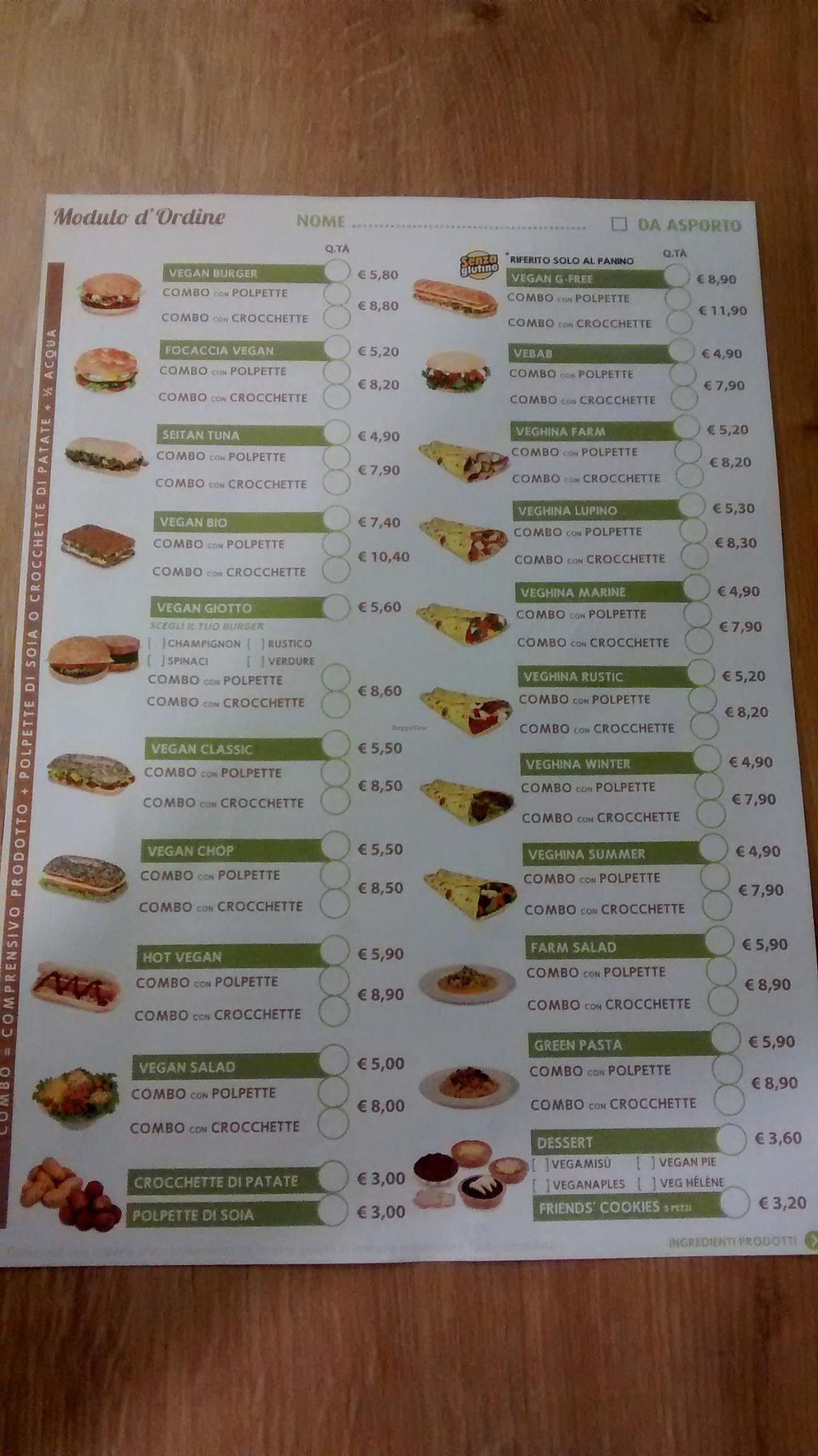 """Photo of Universo Vegano  by <a href=""""/members/profile/JonJon"""">JonJon</a> <br/>Menu as of September 20, 2014 <br/> September 22, 2014  - <a href='/contact/abuse/image/47226/80707'>Report</a>"""