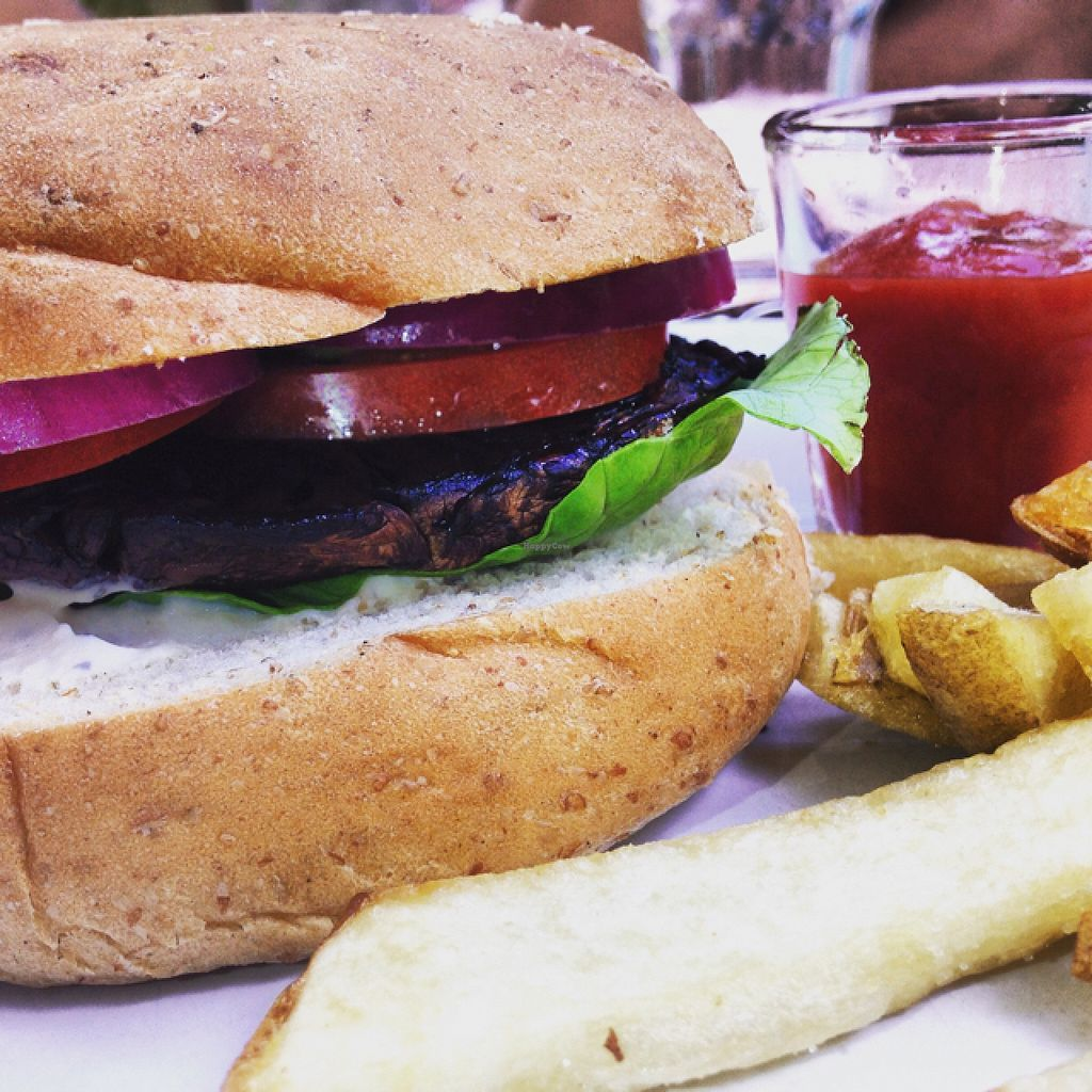 "Photo of Avocado Vegetariano - Santa Gertrudis Copo  by <a href=""/members/profile/boruzo"">boruzo</a> <br/>vegan portobello burger <br/> February 22, 2016  - <a href='/contact/abuse/image/47239/137360'>Report</a>"