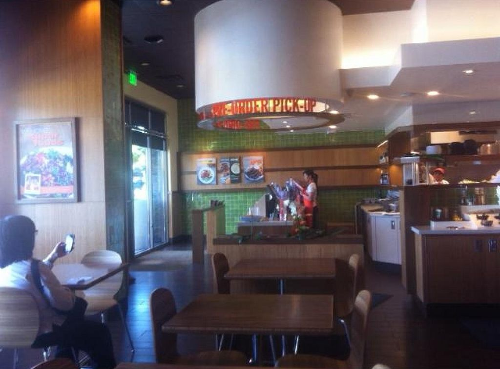 """Photo of Veggie Grill  by <a href=""""/members/profile/robivore"""">robivore</a> <br/>order station <br/> July 17, 2014  - <a href='/contact/abuse/image/47261/74273'>Report</a>"""