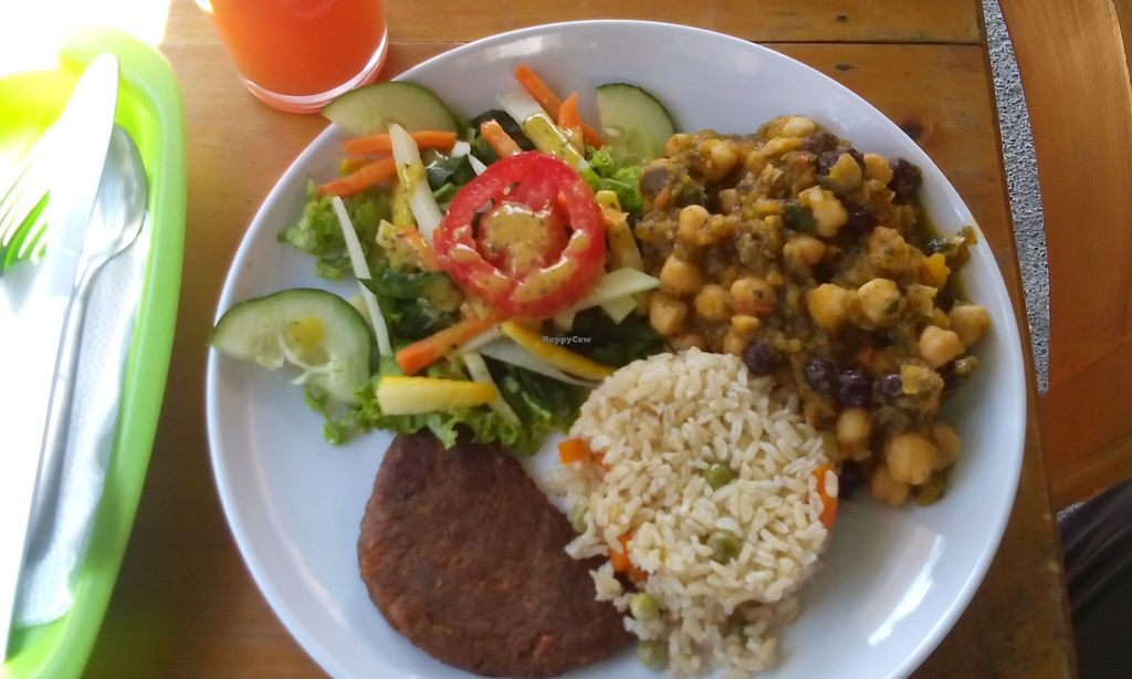 """Photo of Vegan House  by <a href=""""/members/profile/maynard7"""">maynard7</a> <br/>Delicious meal today <br/> January 6, 2016  - <a href='/contact/abuse/image/47270/131326'>Report</a>"""