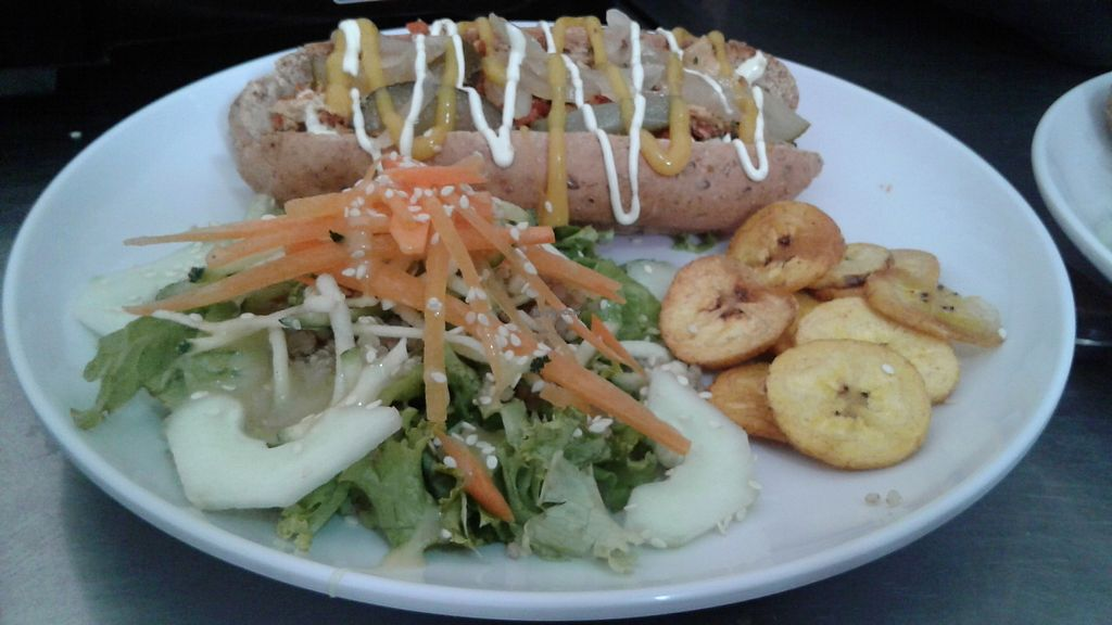 """Photo of Vegan House  by <a href=""""/members/profile/paisachimba"""">paisachimba</a> <br/>Vegan hotdog... so delicious  <br/> August 31, 2017  - <a href='/contact/abuse/image/47270/299272'>Report</a>"""