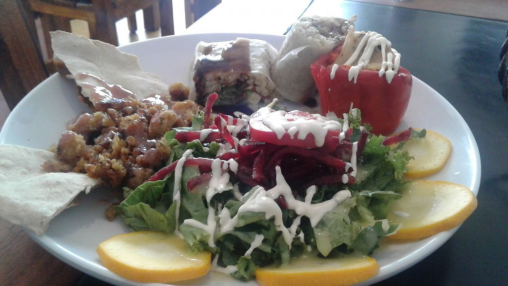 """Photo of Vegan House  by <a href=""""/members/profile/paisachimba"""">paisachimba</a> <br/>Vegan sushi??? <br/> August 31, 2017  - <a href='/contact/abuse/image/47270/299275'>Report</a>"""