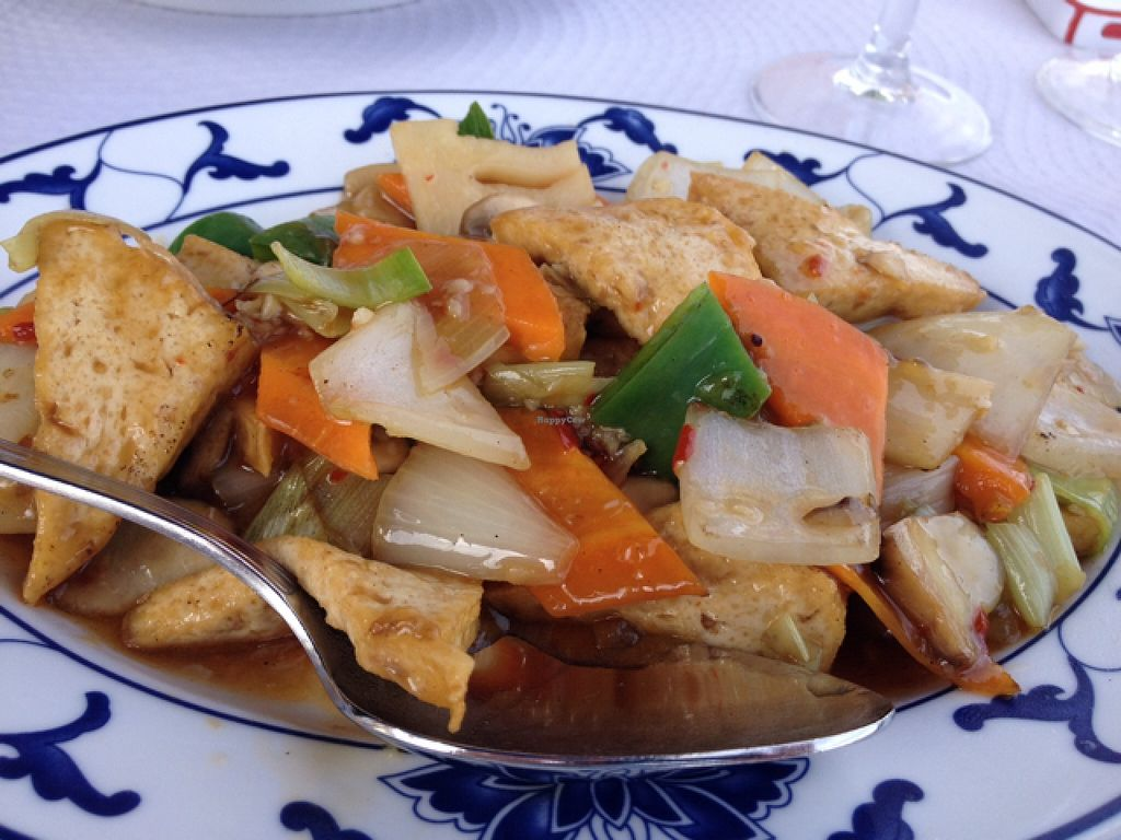 """Photo of Dynasty  by <a href=""""/members/profile/hack_man"""">hack_man</a> <br/>Hot and Spicy mixed veg and tofu  <br/> September 8, 2015  - <a href='/contact/abuse/image/47290/116865'>Report</a>"""