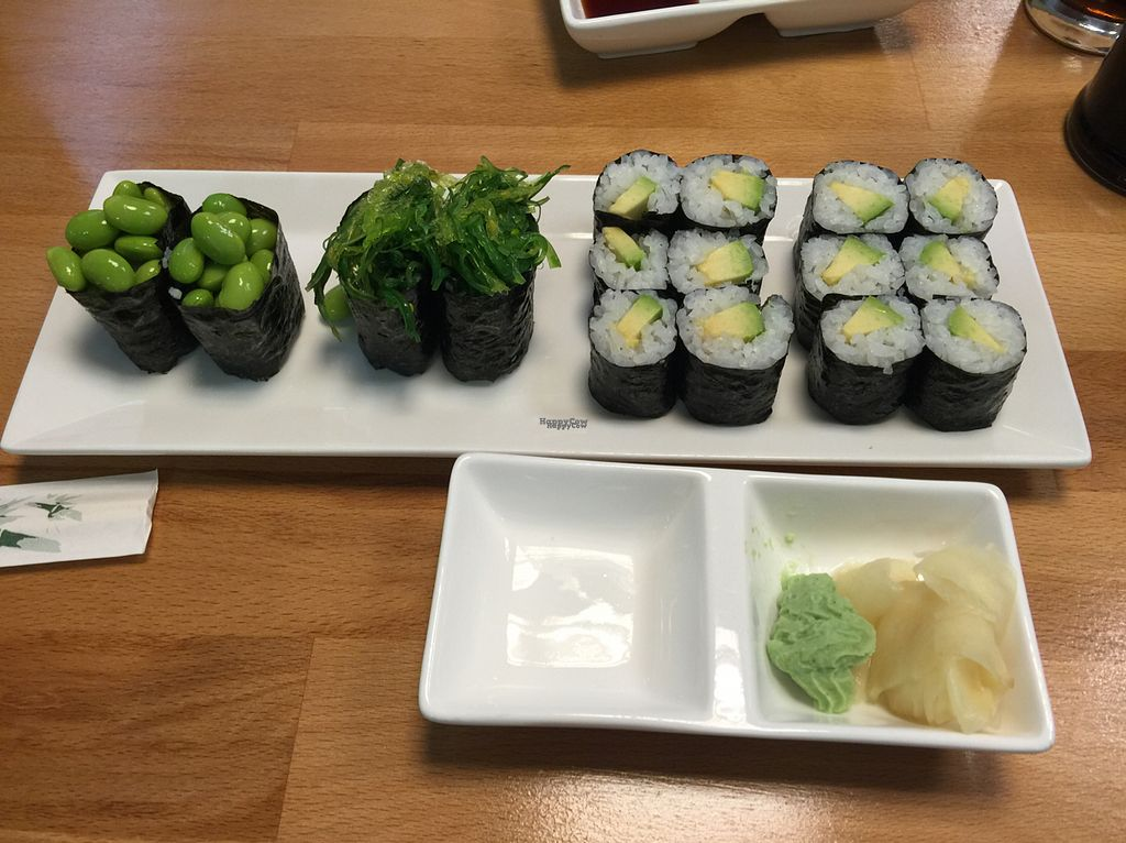"""Photo of Mylicious Sushi  by <a href=""""/members/profile/Feela"""">Feela</a> <br/>Veganes Sushi <br/> September 4, 2016  - <a href='/contact/abuse/image/47294/173466'>Report</a>"""