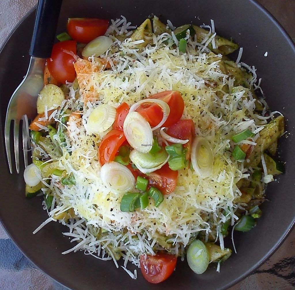 """Photo of Chirimoya Healthy Food Station  by <a href=""""/members/profile/somtours"""">somtours</a> <br/>Lunch at Chirimoya. IT'S ALL ORGANIC! IT'S ALL BIO! <br/> May 19, 2014  - <a href='/contact/abuse/image/47326/70264'>Report</a>"""