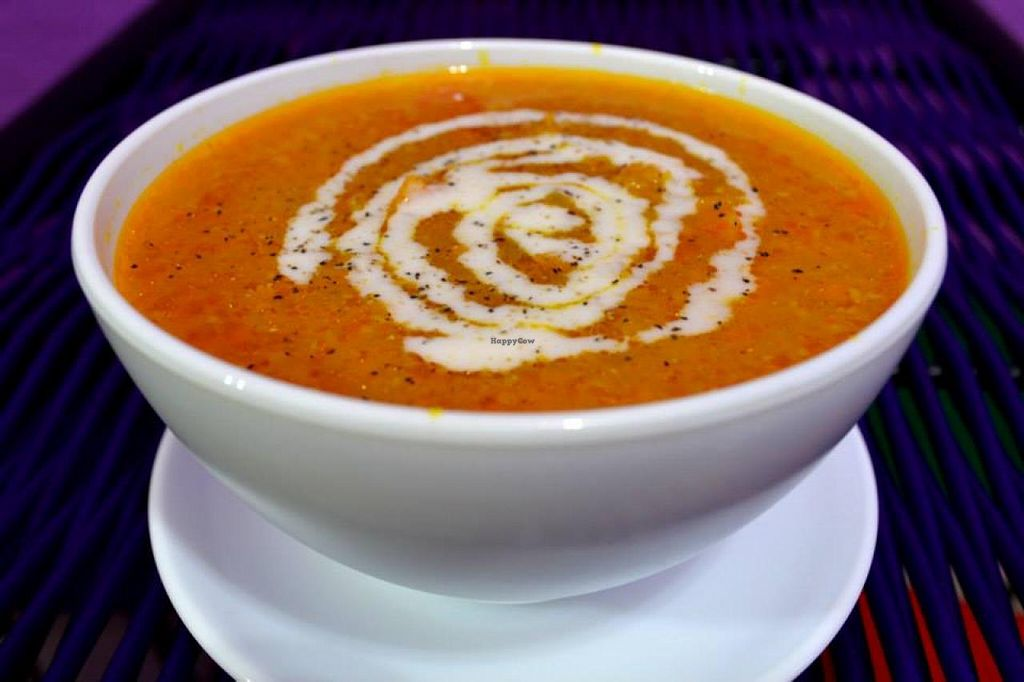 """Photo of CLOSED: New York Soup Kitchen  by <a href=""""/members/profile/MattPick"""">MattPick</a> <br/>African-style peanut soup <br/> July 20, 2014  - <a href='/contact/abuse/image/47340/74557'>Report</a>"""