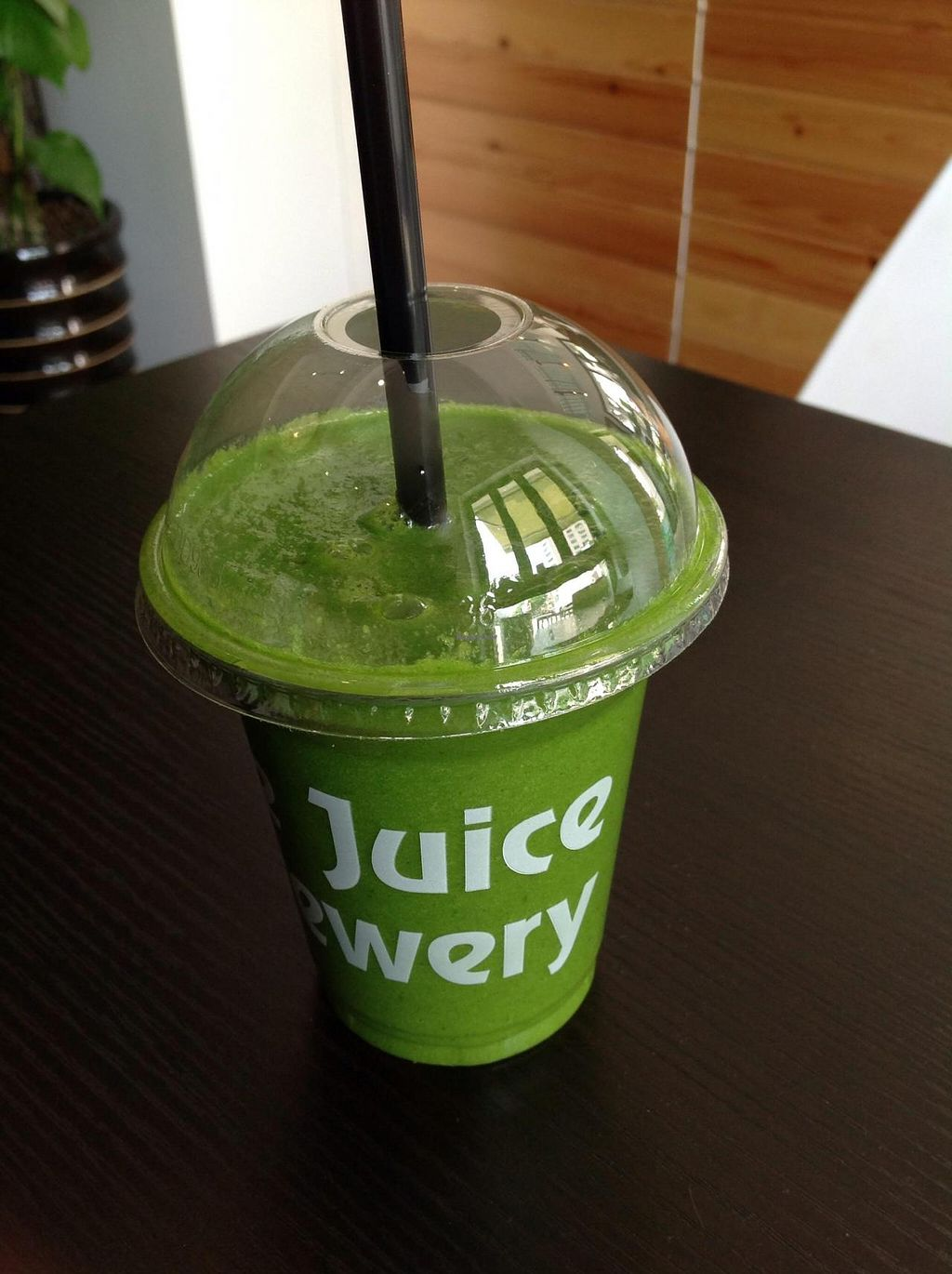 """Photo of The Juice Brewery  by <a href=""""/members/profile/NCC"""">NCC</a> <br/>Thursdays smoothie special, tweeted a bit to make it less sugary.  <br/> May 15, 2014  - <a href='/contact/abuse/image/47361/70063'>Report</a>"""