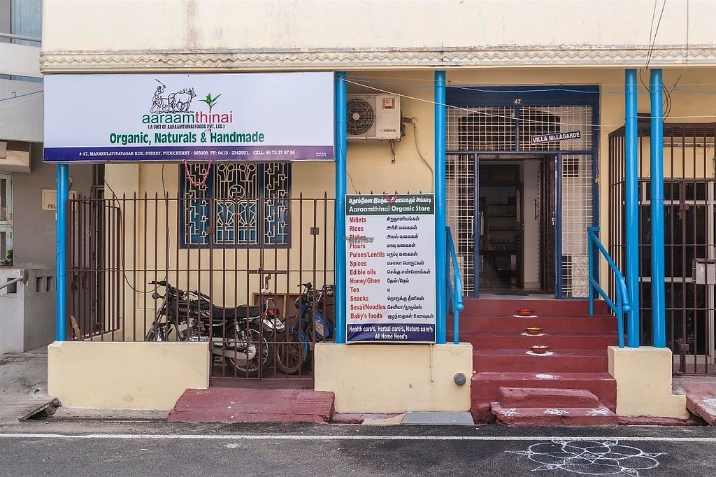 """Photo of Aaraamthinai Organic Store  by <a href=""""/members/profile/Aaraamthinai"""">Aaraamthinai</a> <br/>organic millets, Traditional  Rices, pulses, wooden cold pressed Edible oils, Honey, Ghee, Sevai, Tea,baby foods, Herbal products dall , flours, Heath products, Herbal cosmetics , Handmade soap, herbal oils, fruit and herbal juices, seeds and nuts , pickles and jam , all home and healthy needs is available <br/> March 8, 2017  - <a href='/contact/abuse/image/47365/234129'>Report</a>"""