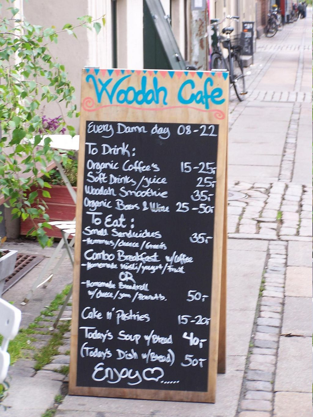 """Photo of CLOSED: Woodah Cafe  by <a href=""""/members/profile/Amy1274"""">Amy1274</a> <br/>Menu (May 2014) <br/> May 17, 2014  - <a href='/contact/abuse/image/47367/70211'>Report</a>"""