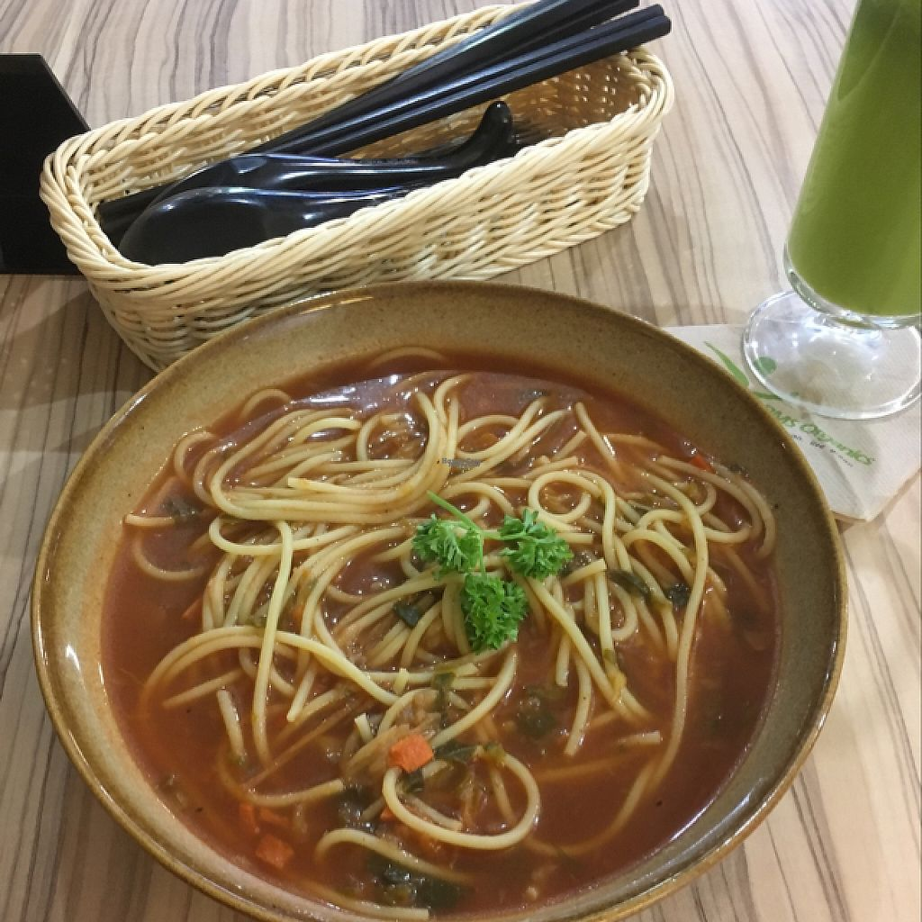 """Photo of Airport - BMS Organics  by <a href=""""/members/profile/SuBravo"""">SuBravo</a> <br/>Spaghetti minestrone <br/> April 17, 2017  - <a href='/contact/abuse/image/47389/249214'>Report</a>"""