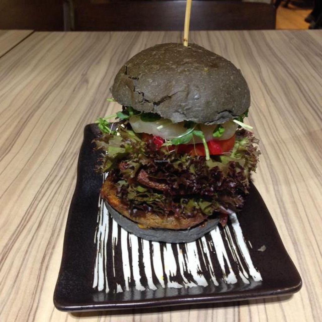 """Photo of Airport - BMS Organics  by <a href=""""/members/profile/AndyT"""">AndyT</a> <br/>Vegan burger (large size) <br/> September 7, 2014  - <a href='/contact/abuse/image/47389/79305'>Report</a>"""