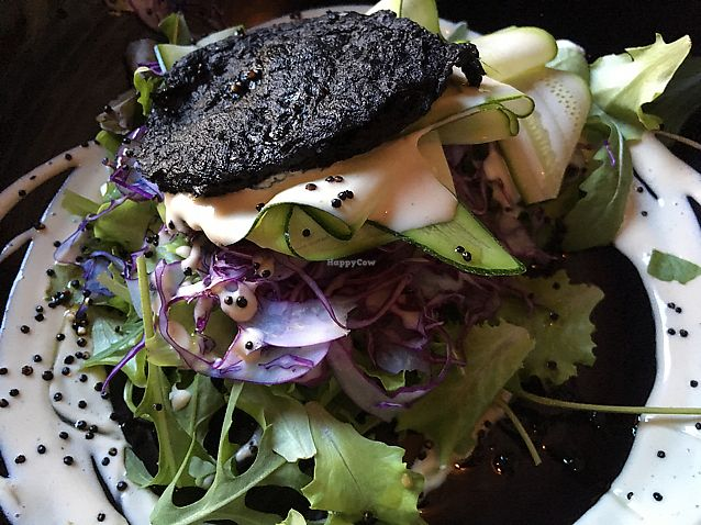 """Photo of Soda  by <a href=""""/members/profile/mike1366"""">mike1366</a> <br/>Vegetable pancake with salad and zucchini carpaccio  <br/> June 10, 2017  - <a href='/contact/abuse/image/47394/267697'>Report</a>"""