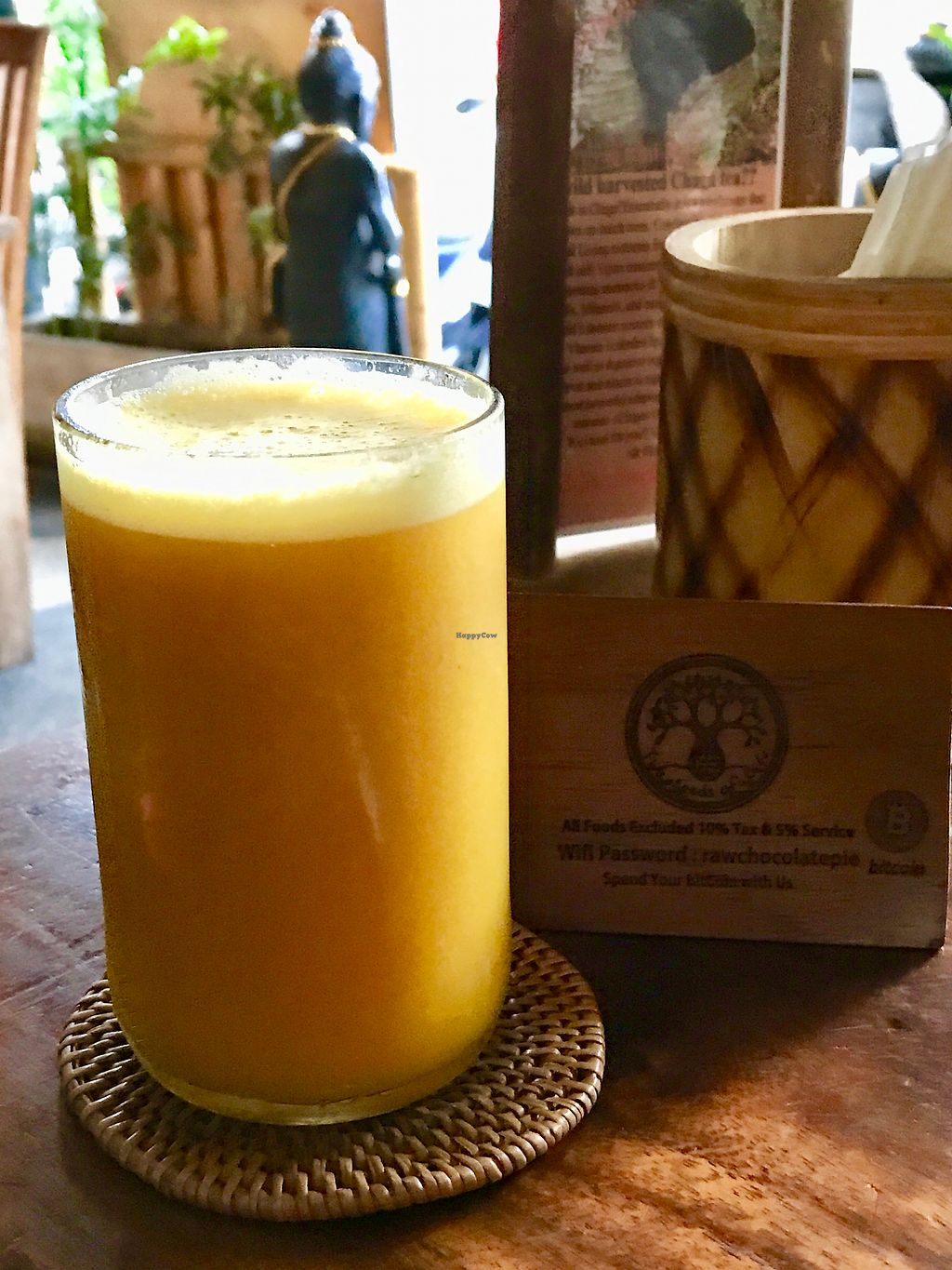 """Photo of The Seeds of Life  by <a href=""""/members/profile/Yogini106"""">Yogini106</a> <br/>Fresh juice ( orange, pineapple, carrot, ginger, tumeric )  <br/> November 4, 2017  - <a href='/contact/abuse/image/47407/321694'>Report</a>"""