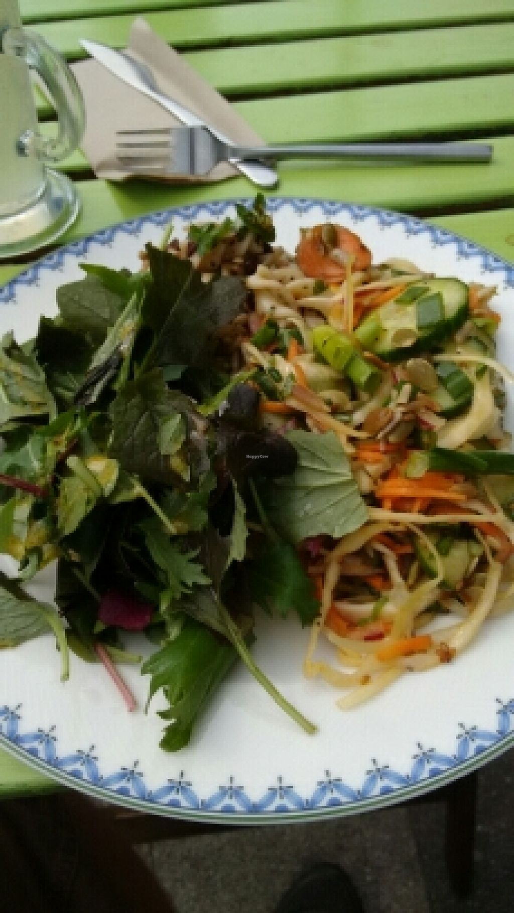 """Photo of The Project Cafe  by <a href=""""/members/profile/craigmc"""">craigmc</a> <br/>late lunch, two salads and greens. fab <br/> May 8, 2016  - <a href='/contact/abuse/image/47424/148050'>Report</a>"""