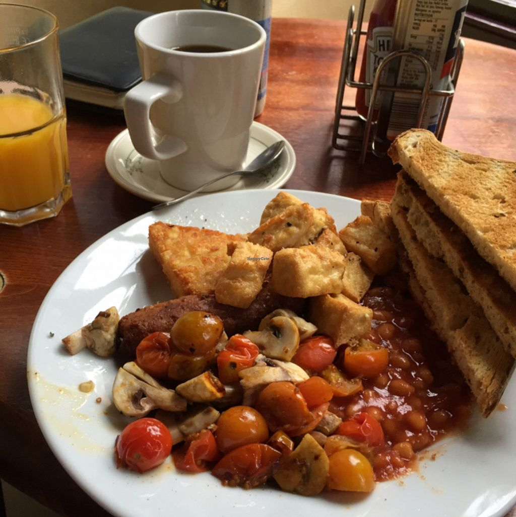 """Photo of Cherry Reds Cafe and Bar  by <a href=""""/members/profile/Marie88"""">Marie88</a> <br/>vegan breakfast  <br/> October 17, 2015  - <a href='/contact/abuse/image/47425/121572'>Report</a>"""