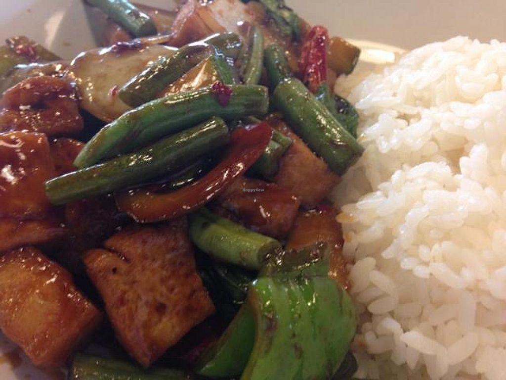 """Photo of Asian Max  by <a href=""""/members/profile/calamaestra"""">calamaestra</a> <br/>spicy basil tofu <br/> June 8, 2014  - <a href='/contact/abuse/image/47429/71667'>Report</a>"""