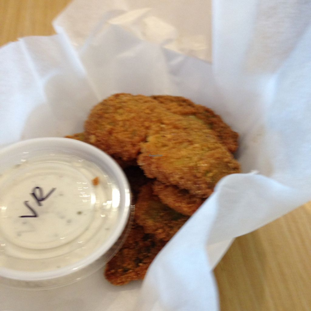 """Photo of The Wild Burrito  by <a href=""""/members/profile/slo0go"""">slo0go</a> <br/>avocado fries with vegan ranch dressing <br/> May 29, 2017  - <a href='/contact/abuse/image/47450/263611'>Report</a>"""