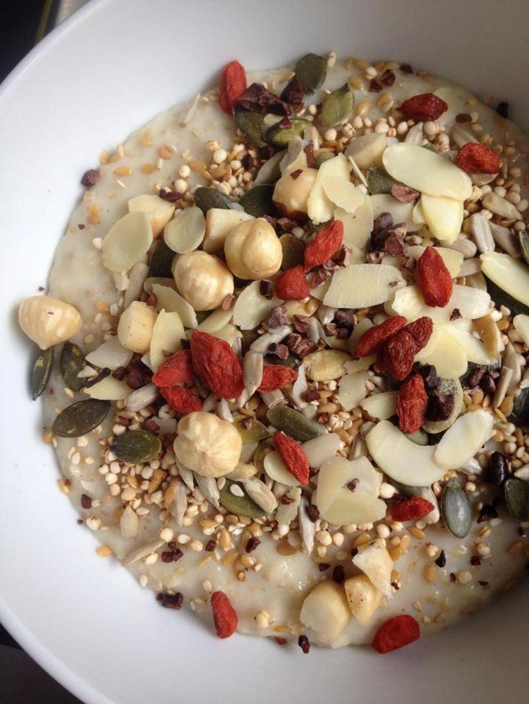 "Photo of Lotus Cucina  by <a href=""/members/profile/MartaAddari"">MartaAddari</a> <br/>Porridge <br/> June 17, 2014  - <a href='/contact/abuse/image/47453/72149'>Report</a>"