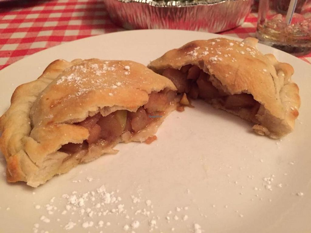 """Photo of CLOSED: Sylvia's Brick Oven  by <a href=""""/members/profile/Marsha48"""">Marsha48</a> <br/>Delicious vegan apple pie calzone...not on their regular menu, but maybe they'll bring it back!  <br/> May 12, 2015  - <a href='/contact/abuse/image/47456/102013'>Report</a>"""