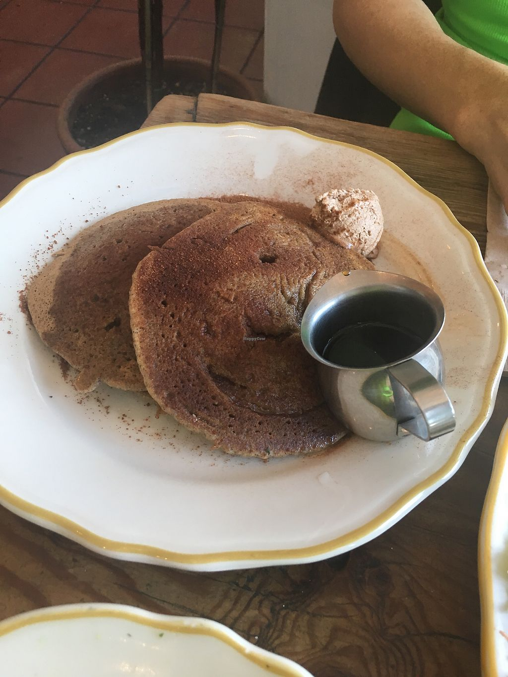 """Photo of Kitchen Mouse  by <a href=""""/members/profile/billierod"""">billierod</a> <br/>Snickerdoodle Vegan Pancakes with Sugar Butter <br/> July 5, 2017  - <a href='/contact/abuse/image/47458/276807'>Report</a>"""