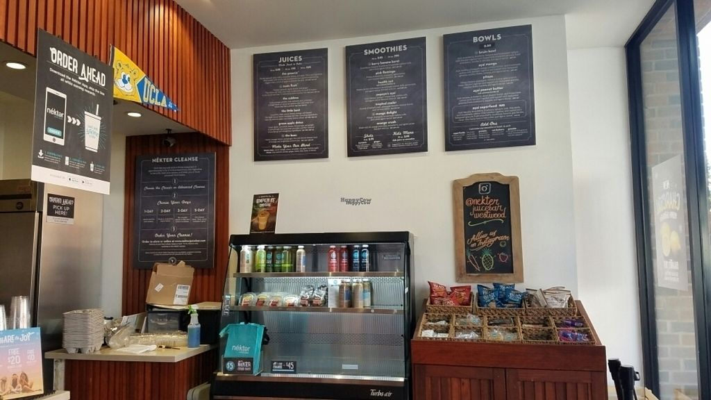 """Photo of Nekter Juice Bar  by <a href=""""/members/profile/kenvegan"""">kenvegan</a> <br/>the menu <br/> November 5, 2016  - <a href='/contact/abuse/image/47466/186710'>Report</a>"""