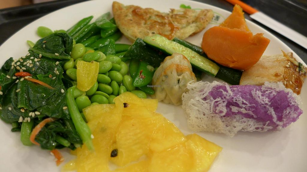 """Photo of CLOSED: Minder Vegetarian  by <a href=""""/members/profile/Kimxula"""">Kimxula</a> <br/>minder buffet plate <br/> June 14, 2015  - <a href='/contact/abuse/image/47479/105896'>Report</a>"""