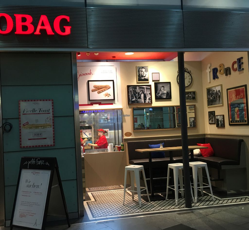 """Photo of Le Crobag - Friedrichstr Station  by <a href=""""/members/profile/marky_mark"""">marky_mark</a> <br/>outside <br/> August 23, 2016  - <a href='/contact/abuse/image/47484/171011'>Report</a>"""