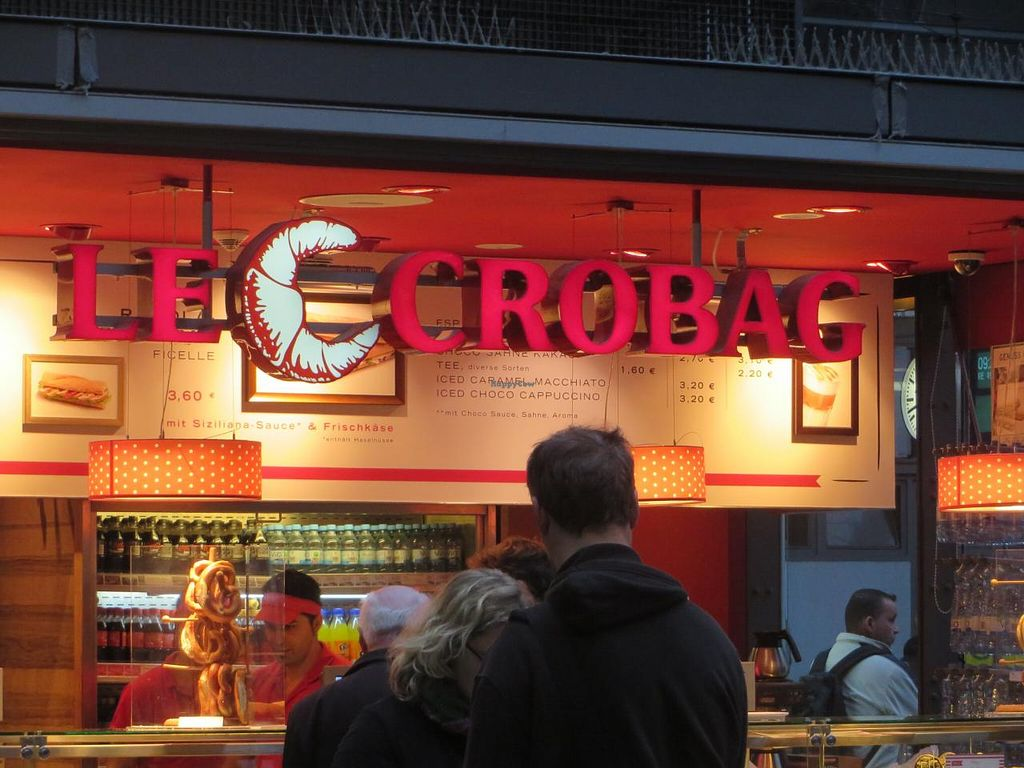 "Photo of Le Crobag  by <a href=""/members/profile/VegiAnna"">VegiAnna</a> <br/>'Le Crobag' inside Frankfurt Central Station <br/> October 9, 2014  - <a href='/contact/abuse/image/47486/82436'>Report</a>"