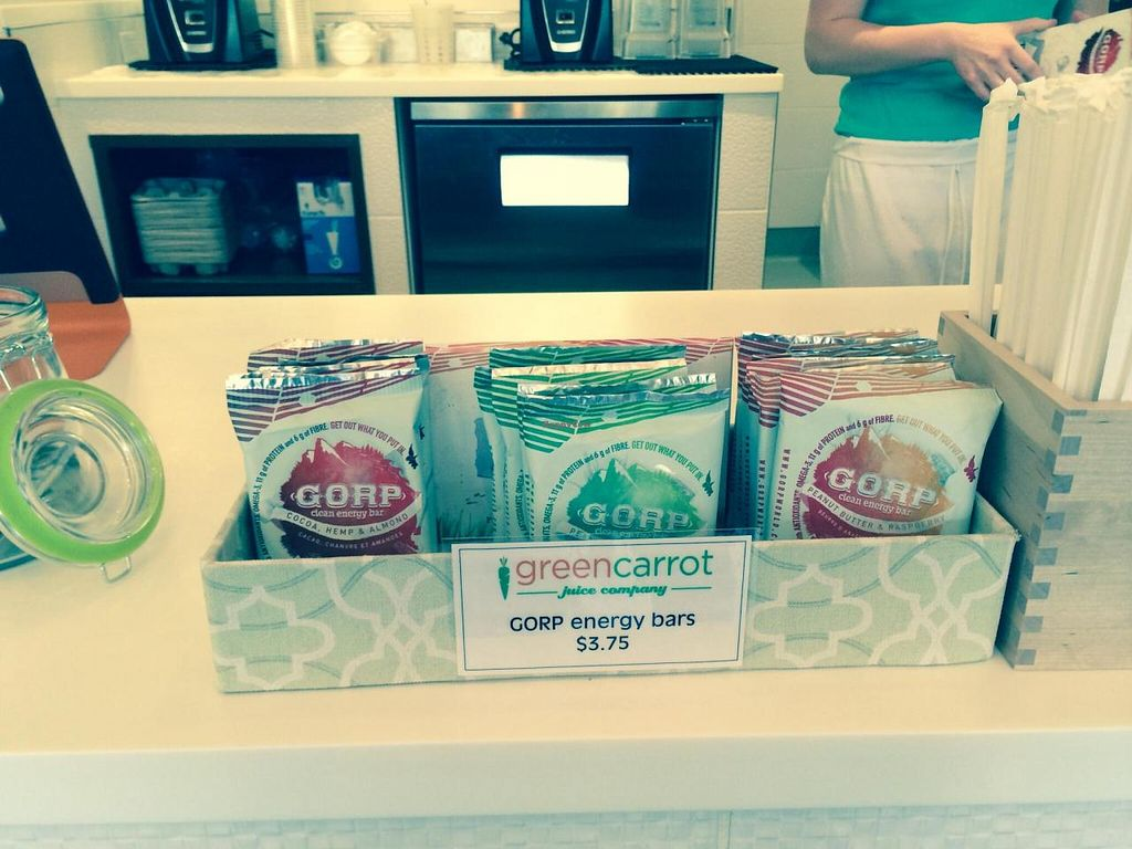 """Photo of Green Carrot Juice Company  by <a href=""""/members/profile/PrairieEarth1"""">PrairieEarth1</a> <br/>Snacks <br/> May 20, 2014  - <a href='/contact/abuse/image/47489/70386'>Report</a>"""
