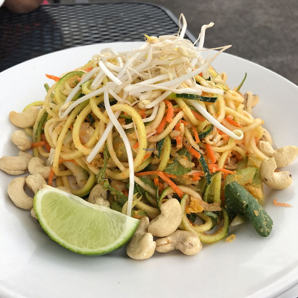 "Photo of Under the Bodhi Tree  by <a href=""/members/profile/Sarah%20P"">Sarah P</a> <br/>raw zucchini noodles <br/> December 31, 2016  - <a href='/contact/abuse/image/47508/206429'>Report</a>"
