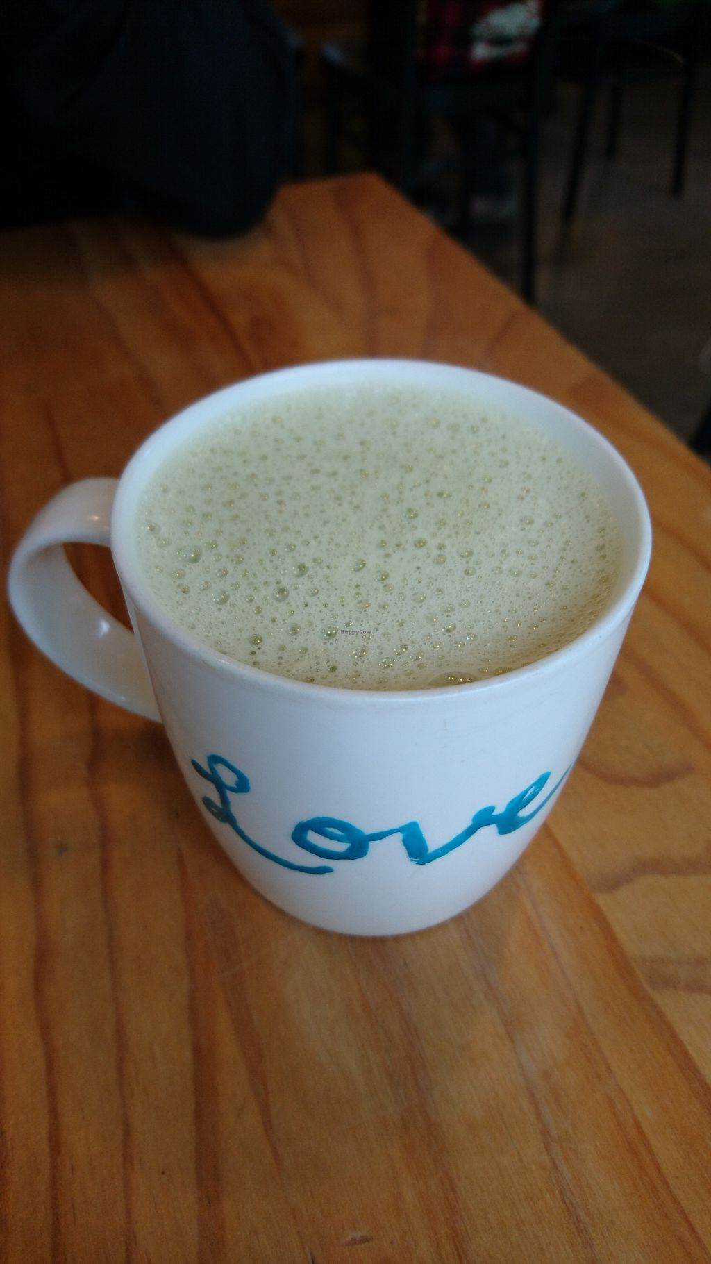 "Photo of Ooh Cha Cha  by <a href=""/members/profile/V-for-Vegan"">V-for-Vegan</a> <br/>Organic Matcha Green Latte <br/> March 23, 2018  - <a href='/contact/abuse/image/47521/374872'>Report</a>"