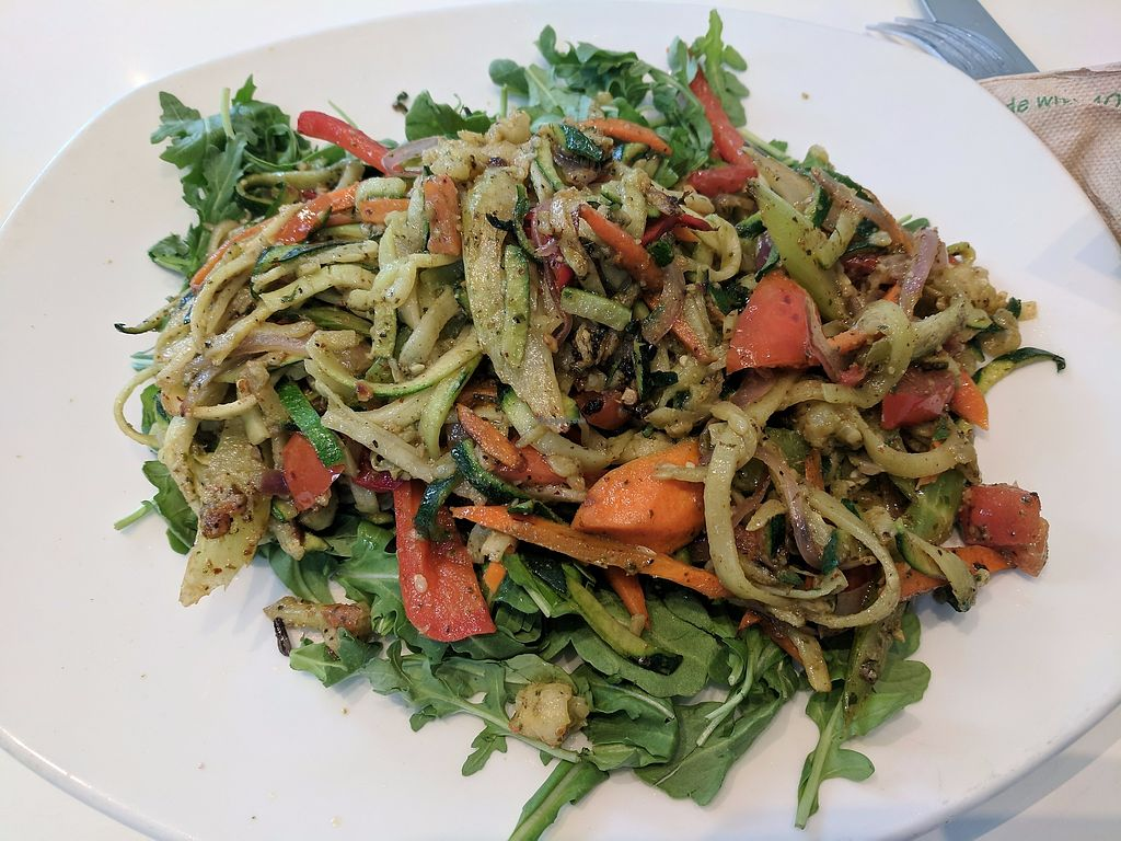 "Photo of Spring Cafe  by <a href=""/members/profile/eee135"">eee135</a> <br/>Zucchini noodles <br/> September 9, 2017  - <a href='/contact/abuse/image/47545/302744'>Report</a>"