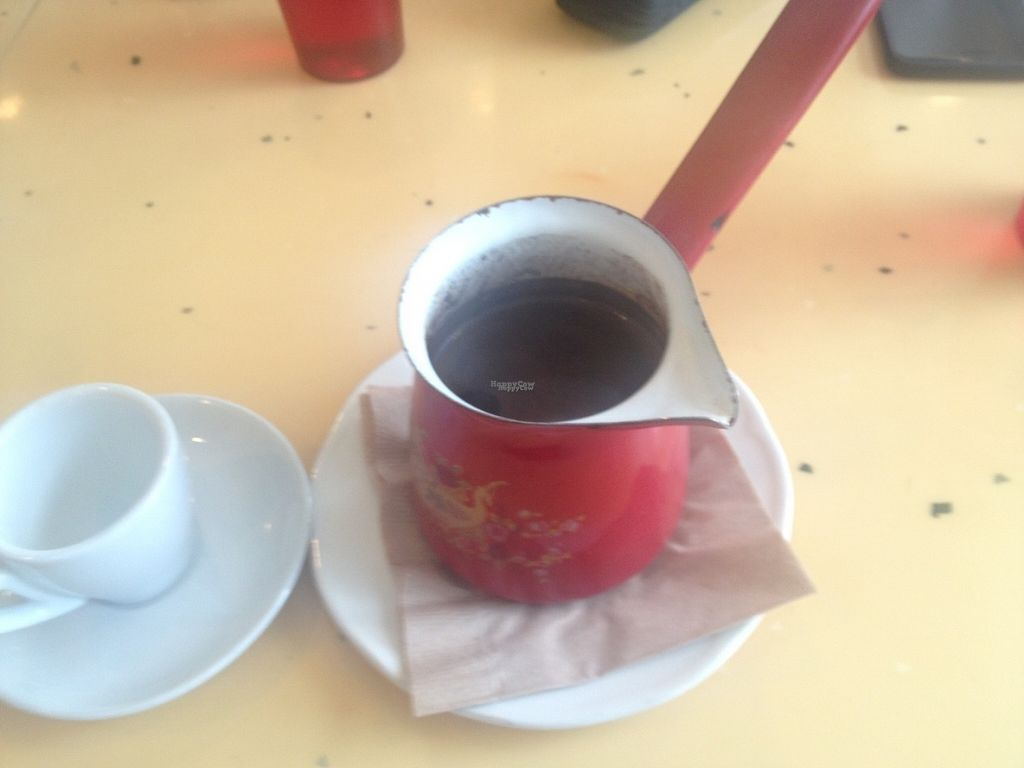 """Photo of Nuba Cafe - Mount Pleasant  by <a href=""""/members/profile/o0Carolyn0o"""">o0Carolyn0o</a> <br/>Amazing turkish coffee!! <br/> September 26, 2016  - <a href='/contact/abuse/image/47561/178085'>Report</a>"""