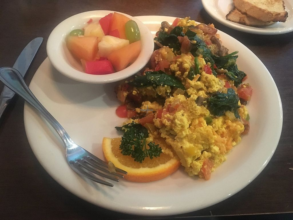 """Photo of Evan's Kitchen  by <a href=""""/members/profile/KellyHolt"""">KellyHolt</a> <br/>Vegan scramble! So delicious! <br/> March 31, 2018  - <a href='/contact/abuse/image/47579/380424'>Report</a>"""