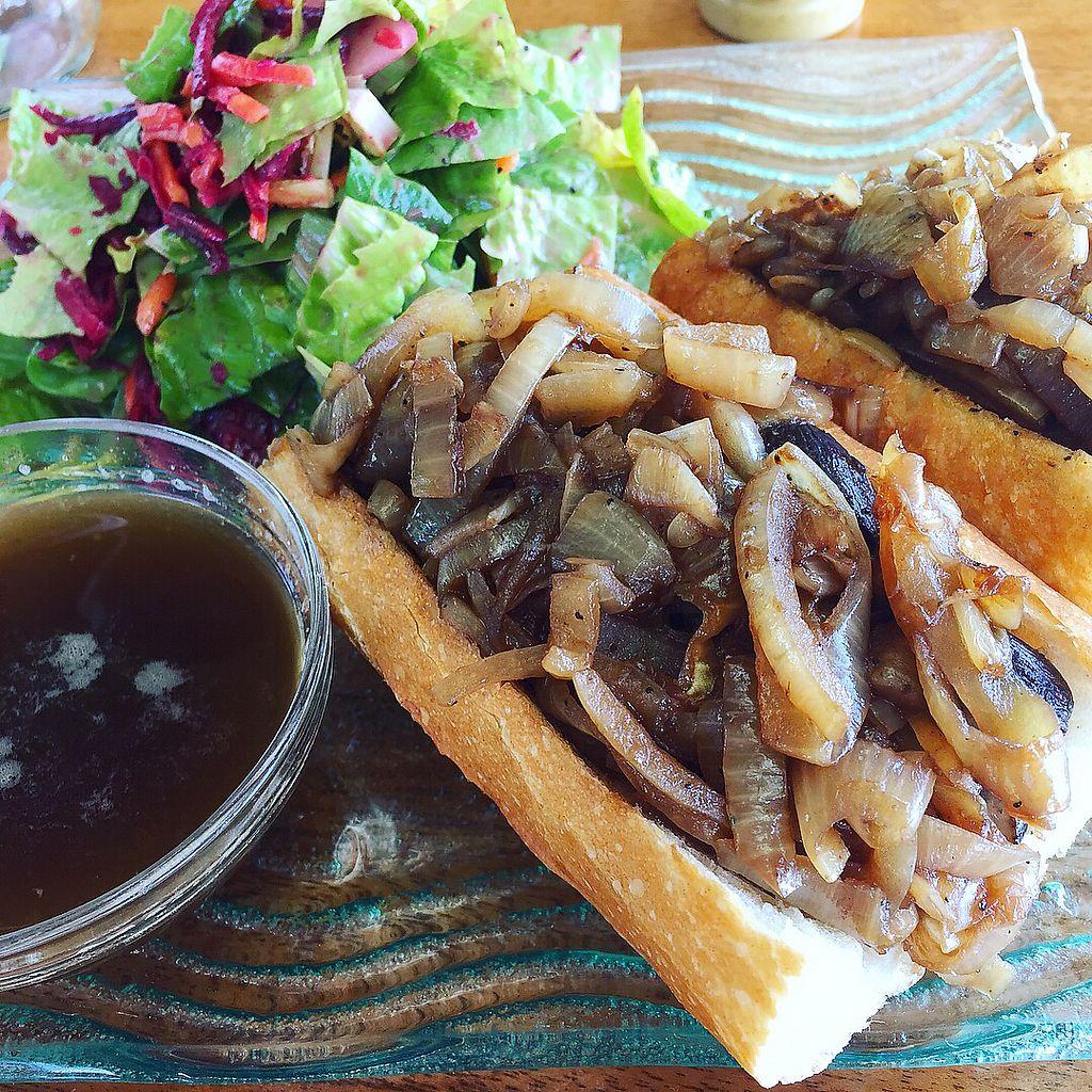 "Photo of Leaf Eaters  by <a href=""/members/profile/gotashima"">gotashima</a> <br/>Mushroom dip sandwich <br/> January 13, 2018  - <a href='/contact/abuse/image/47605/345920'>Report</a>"