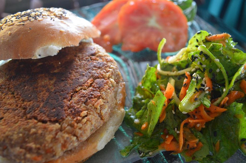"""Photo of Leaf Eaters  by <a href=""""/members/profile/Small3fried"""">Small3fried</a> <br/>Awesome California Burger  <br/> June 11, 2014  - <a href='/contact/abuse/image/47605/71861'>Report</a>"""