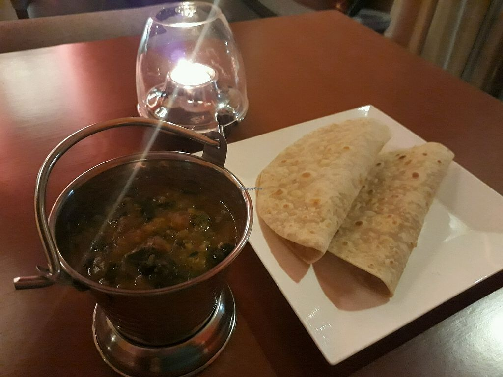 "Photo of Ganesha Restaurante  by <a href=""/members/profile/1May"">1May</a> <br/>Keerai Kootu (red lentils and spinach) with chapatti? <br/> August 24, 2017  - <a href='/contact/abuse/image/47619/296716'>Report</a>"