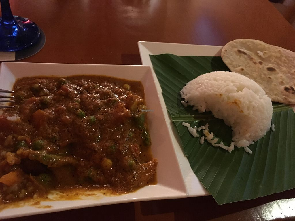 "Photo of Ganesha Restaurante  by <a href=""/members/profile/Snille"">Snille</a> <br/>Vegetarian thokku - medium hot <br/> January 6, 2018  - <a href='/contact/abuse/image/47619/343588'>Report</a>"