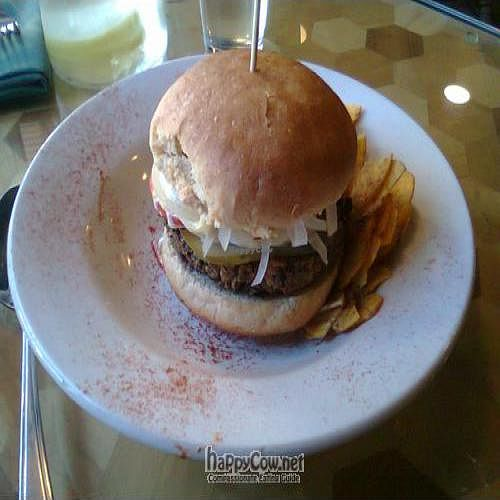 """Photo of Bonnys Vegetarian and Organic Cuisine  by <a href=""""/members/profile/JonJon"""">JonJon</a> <br/>Lenses burger <br/> May 31, 2011  - <a href='/contact/abuse/image/4761/8914'>Report</a>"""