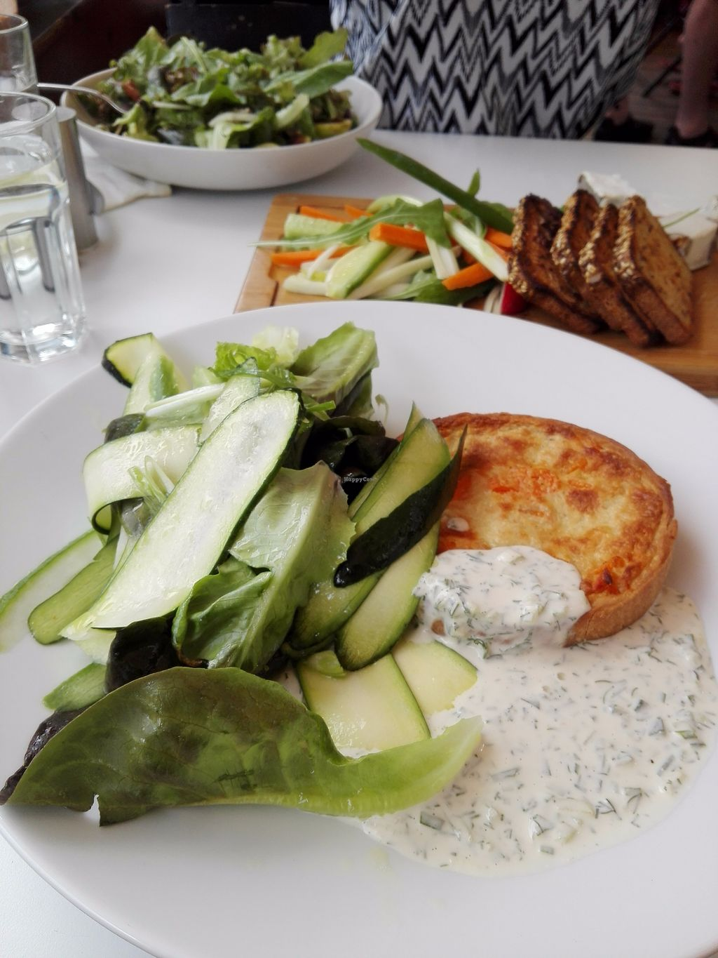"""Photo of Anastasia  by <a href=""""/members/profile/ElisaGR"""">ElisaGR</a> <br/>Quiche with sweet potato and """"Tzatziki"""" <br/> September 11, 2017  - <a href='/contact/abuse/image/47650/303454'>Report</a>"""