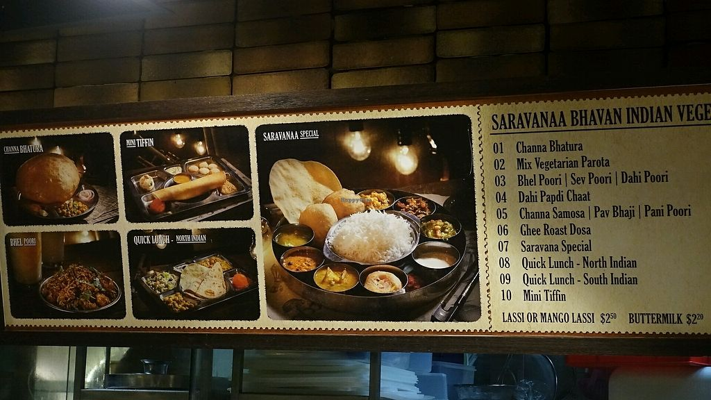 """Photo of Saravana Bhavan - Jurong East  by <a href=""""/members/profile/JimmySeah"""">JimmySeah</a> <br/>menu <br/> December 8, 2017  - <a href='/contact/abuse/image/47670/333436'>Report</a>"""