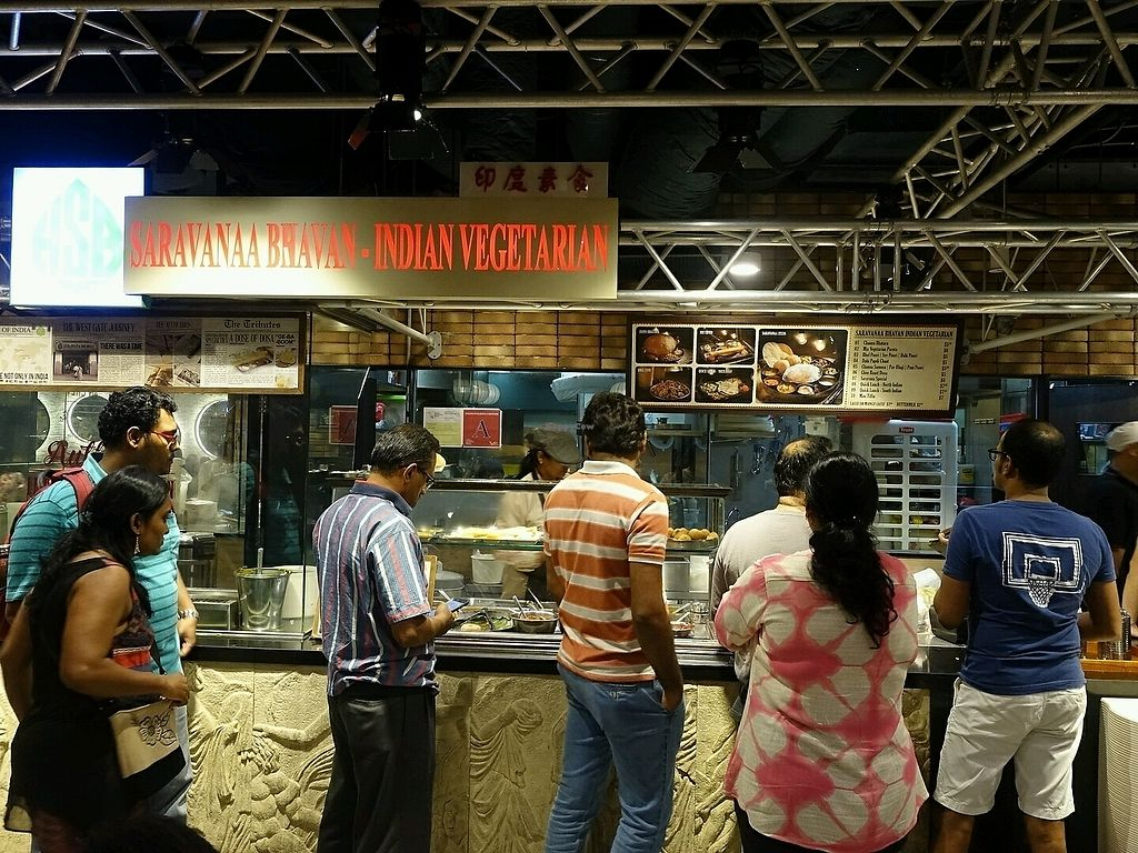 """Photo of Saravana Bhavan - Jurong East  by <a href=""""/members/profile/JimmySeah"""">JimmySeah</a> <br/>queue in front of stall on a Fri evening <br/> December 8, 2017  - <a href='/contact/abuse/image/47670/333437'>Report</a>"""