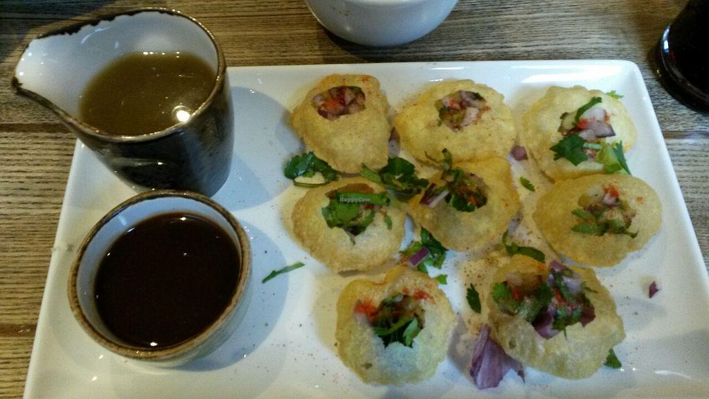 """Photo of Usha's - Indian Street Food  by <a href=""""/members/profile/deadpledge"""">deadpledge</a> <br/>Pani Puri <br/> June 2, 2015  - <a href='/contact/abuse/image/47673/104523'>Report</a>"""