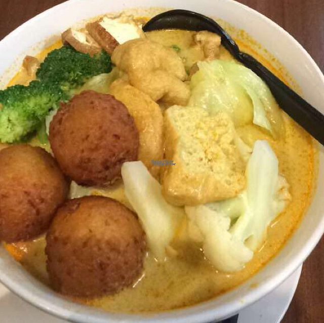 """Photo of September 18 - North Lakes  by <a href=""""/members/profile/RebeccaKosiuk"""">RebeccaKosiuk</a> <br/>Veggie Ball Laksa  <br/> October 13, 2016  - <a href='/contact/abuse/image/47677/181685'>Report</a>"""